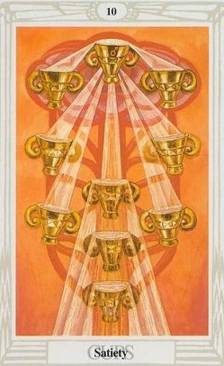 Małe Arkana – Dziesiątka Pucharów
