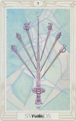Małe Arkana - Siódema Mieczy