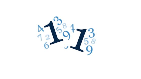 Wibracja numerologiczna liczby 11.