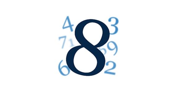 Wibracja numerologiczna liczby 8
