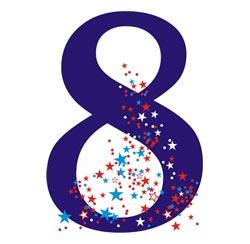 Wibracja partnerska dla numerologicznej 8.