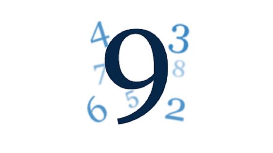 Wibracja numerologiczna liczby 9