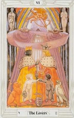 Wielkie Arkana – 6 Kochankowie.