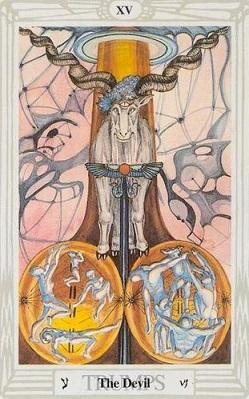 Wielkie Arkana - 15 Diabeł.